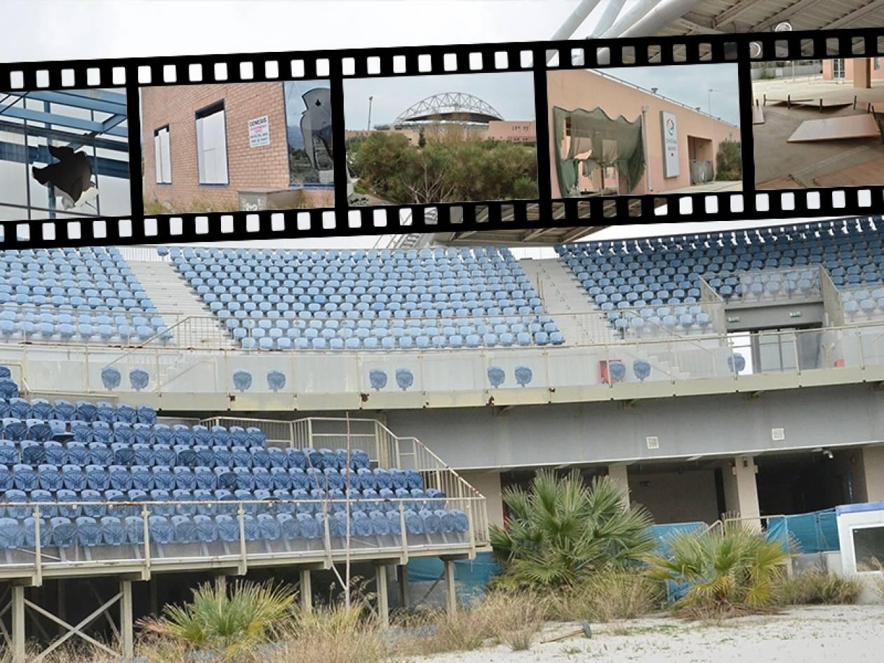 Η απόλυτη εγκατάλειψη στις Ολυμπιακές εγκαταστάσεις 10 χρόνια μετά
