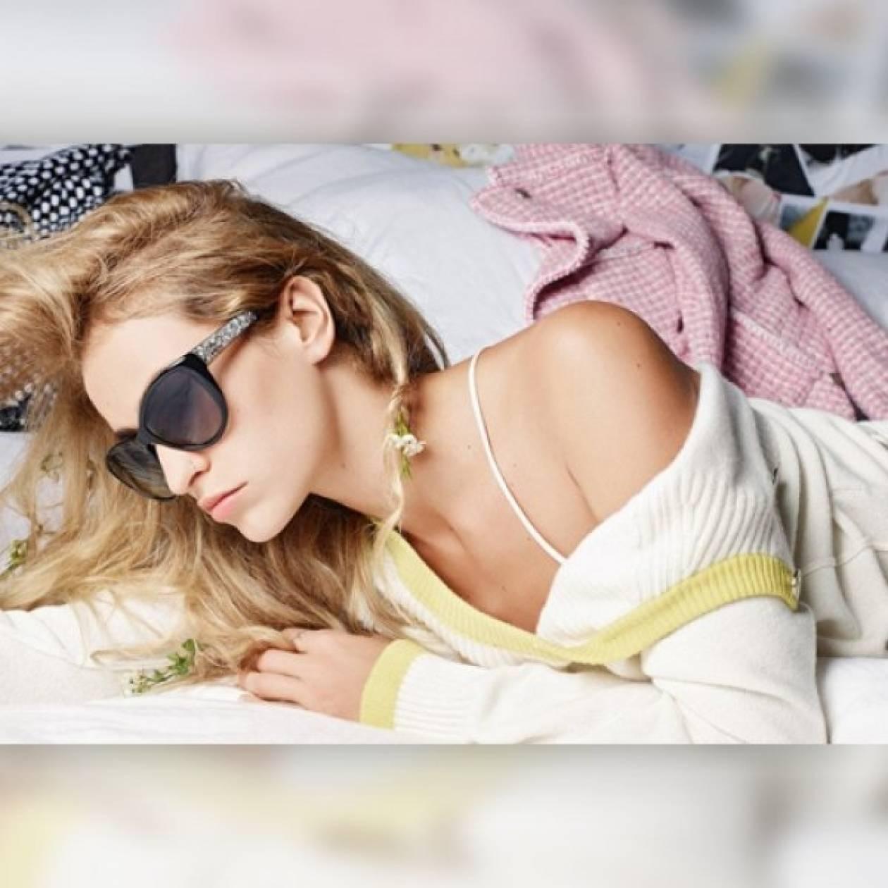 H ρομαντική πλευρά της Alice Dellal για τη Chanel