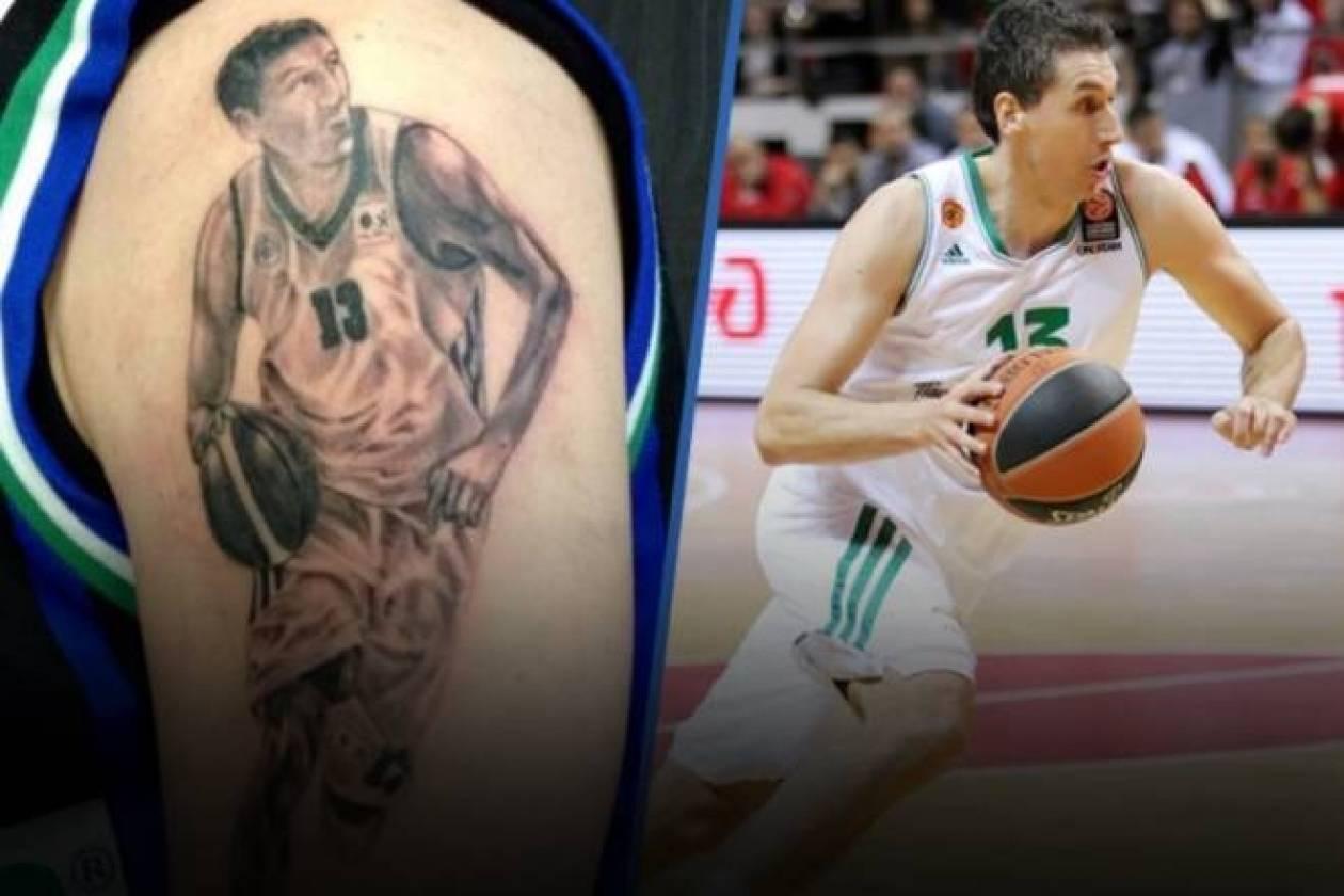 Ο Ιταλός με το… 3D τατουάζ στο Onsports: «Προσκυνάω τον Διαμαντίδη!»