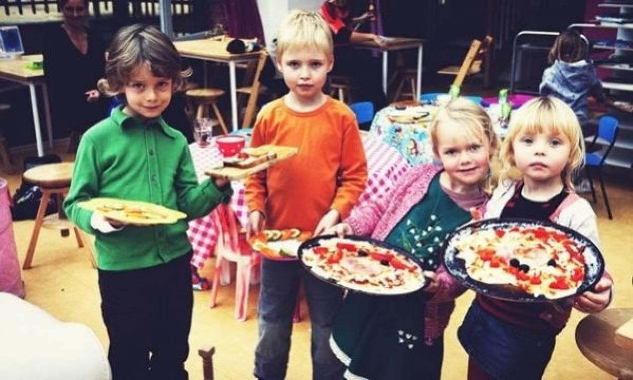 Δείτε το εστιατόριο με ιδιοκτήτες… μικρά παιδιά! (εικόνες)