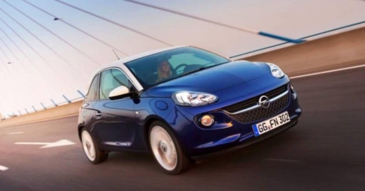 Opel Adam χιλιάρι turbo με 115 άλογο @ Γενεύει