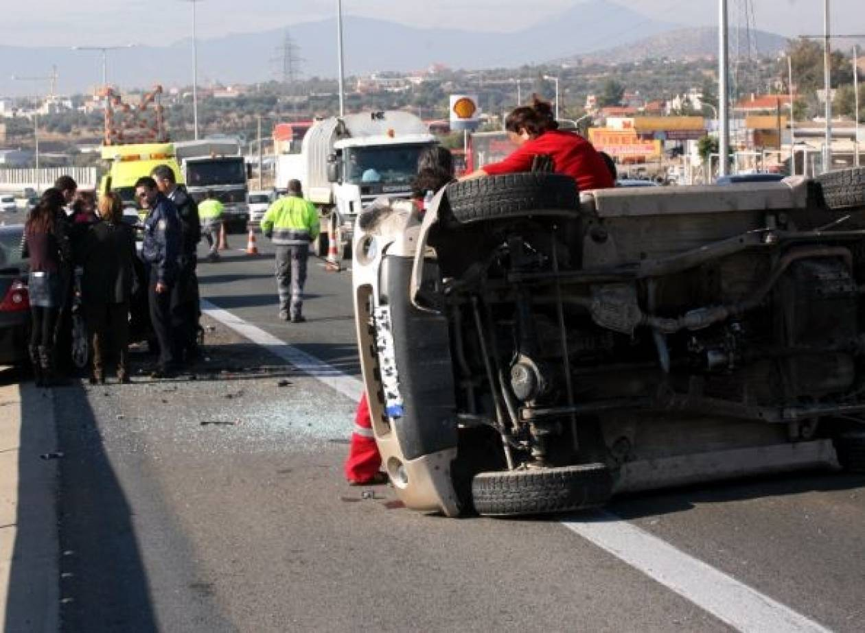 Θεσσαλονίκη: Δύο άνθρωποι έχασαν τη ζωή τους σε τροχαία δυστυχήματα