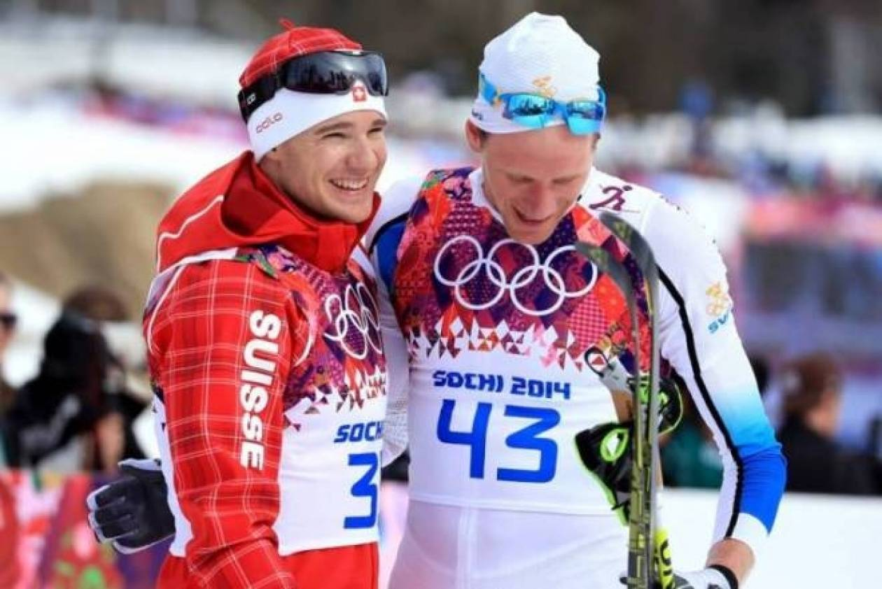 Ολυμπιακοί Αγώνες Σότσι: Ένας άνδρας έφτασε δύο γυναίκες! (photos)