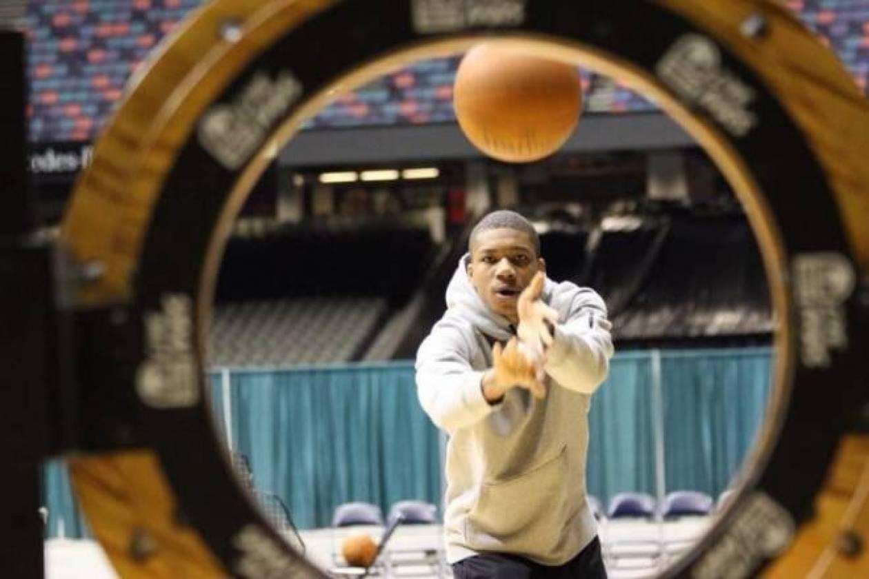All Star Game NBA: Ο Αντετοκούνμπο και οι... κύκλοι! (photos+video)