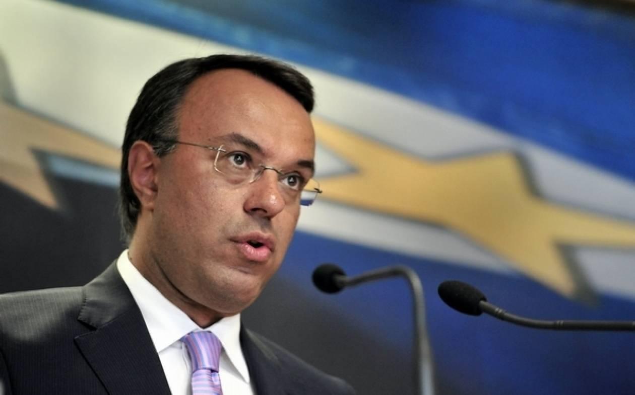 Σταϊκούρας: Πρωτογενές πλεόνασμα και το 2014 χωρίς περιστολή μισθών