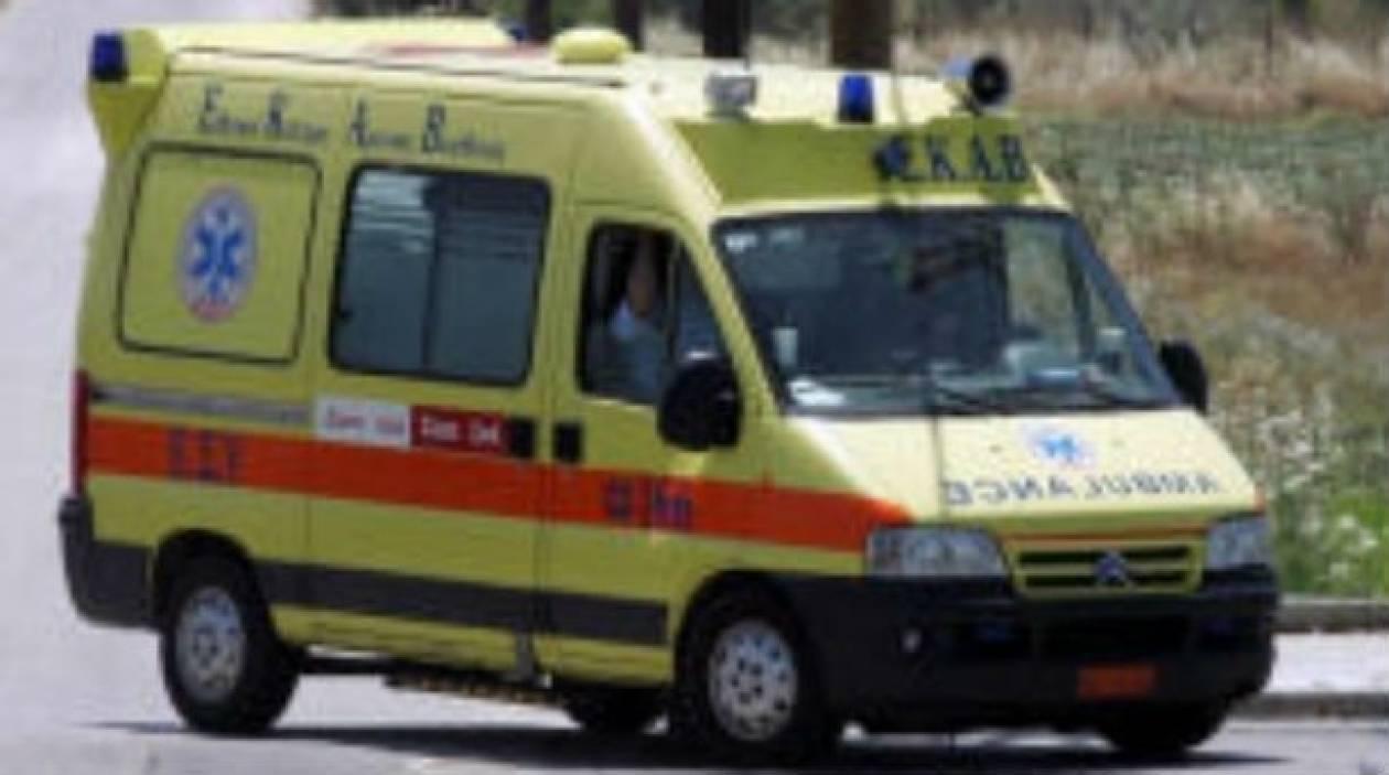 Αίμα και πάλι στους δρόμους της Κρήτης- Σύγκρουση ΙΧ με μοτοσικλέτα