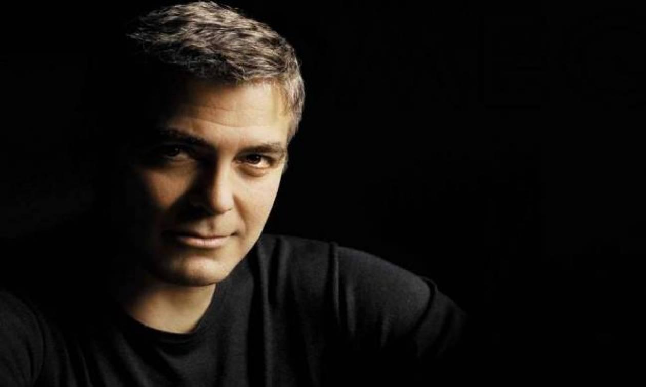 George Clooney: «Έχω βρει το μπελά μου με εσάς του Έλληνες»