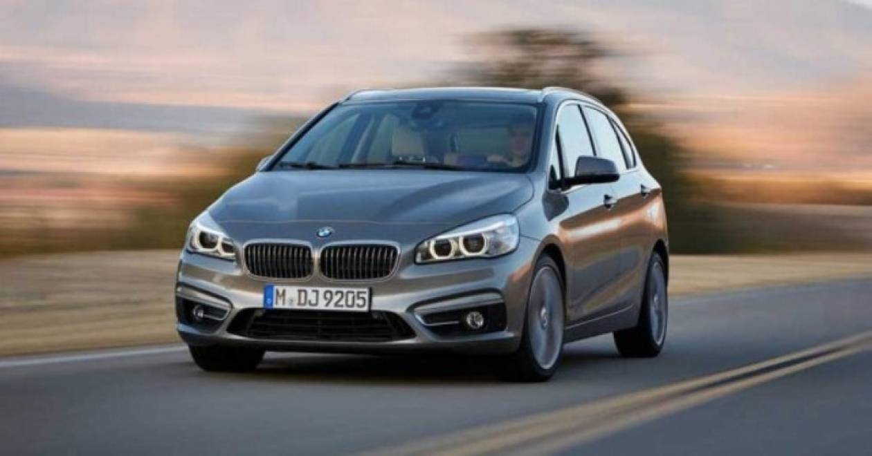BMW 2 Active Tourer: Και επίσημα η πρώτη προσθιοκίνητη