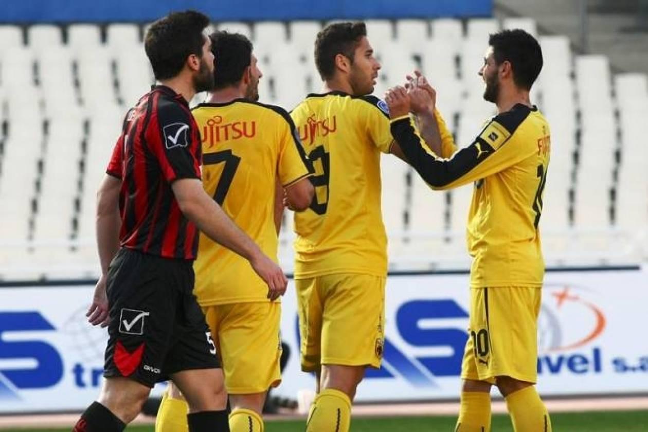 Χωρίς αντίπαλο η ΑΕΚ, 8-1 το Περιστέρι (photos)