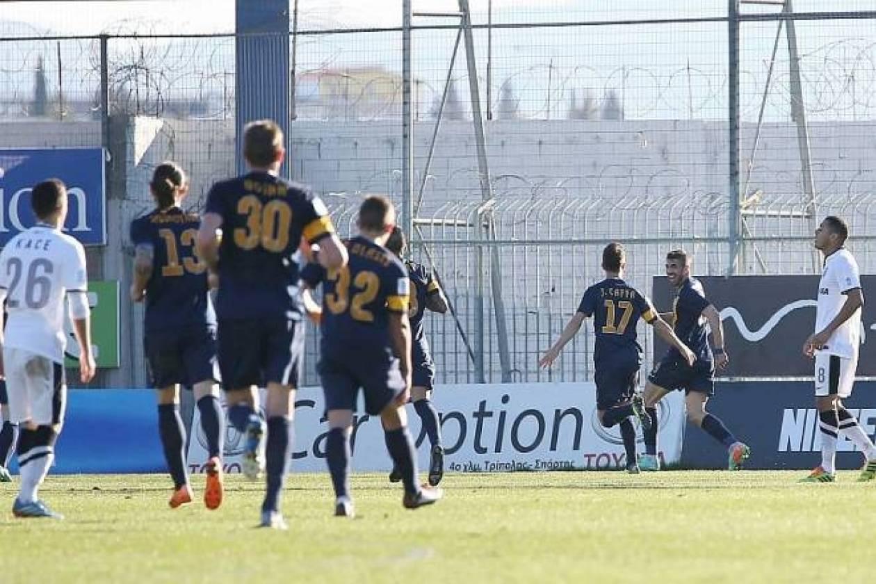 Αστέρας Τρίπολης-ΠΑΟΚ 2-1: Τα γκολ του αγώνα (video)