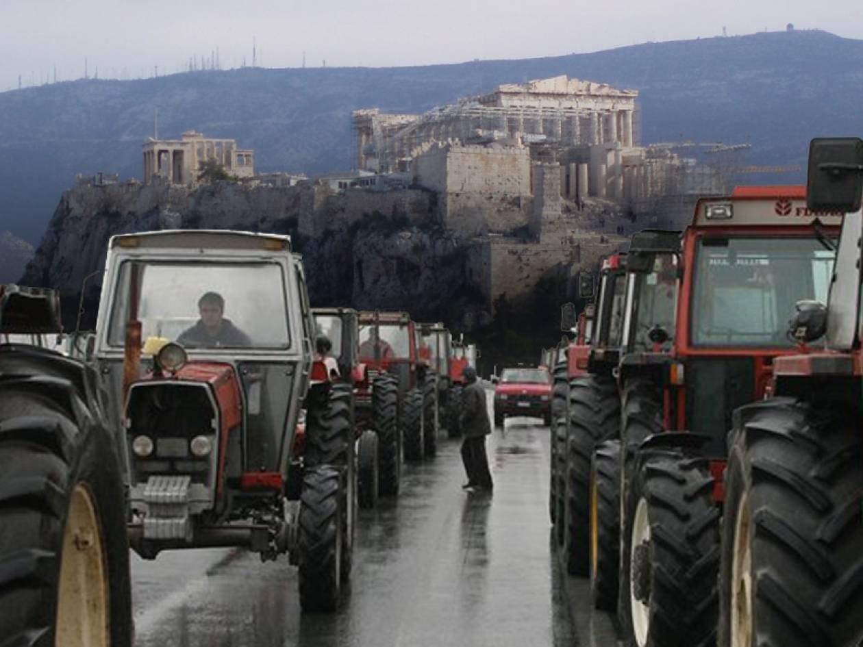 Ραντεβού στην Αθήνα δίνουν οι Αγρότες την Τετάρτη
