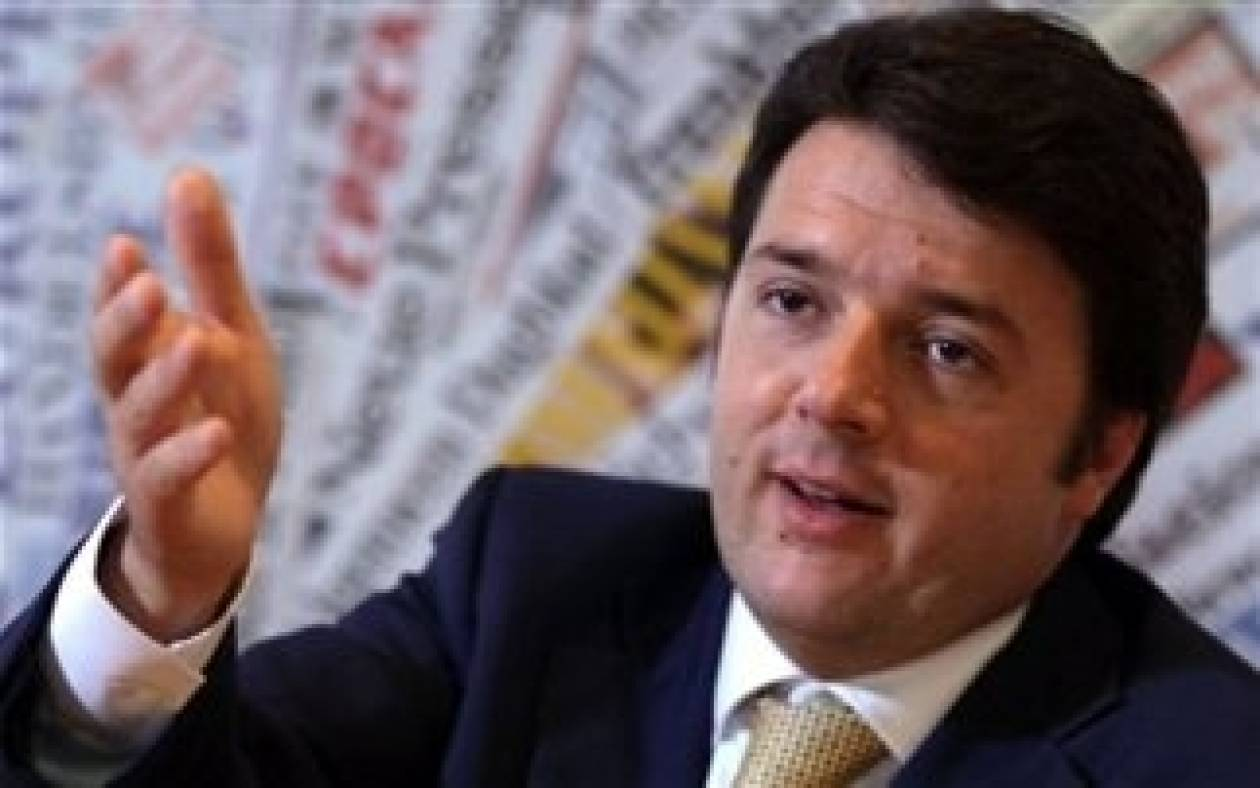 Ιταλία: Σήμερα η εντολή σχηματισμού κυβέρνησης στον Ρέντσι