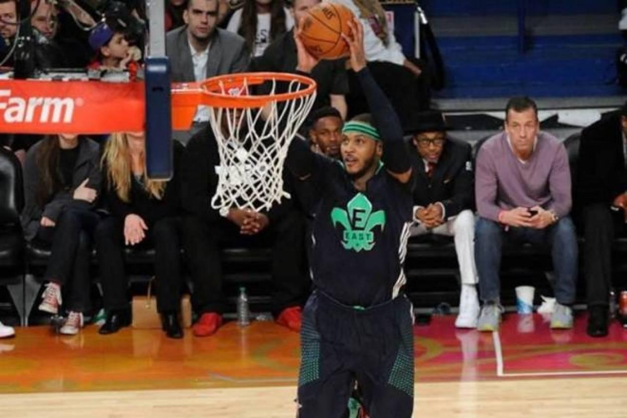 All Star Game NBA: Το... πάρτι του Καρμέλο! (videos+photos)
