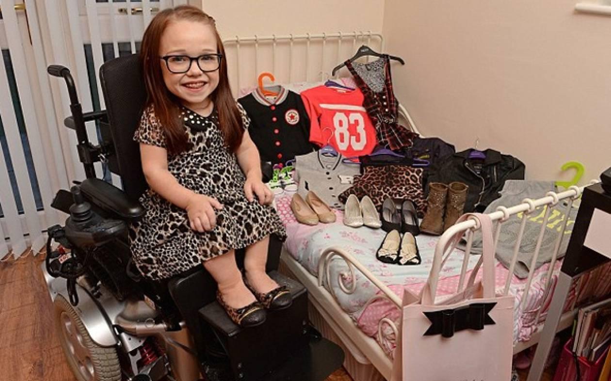 Η 15χρονη που ζει στο σώμα μικρού κοριτσιού (pics)