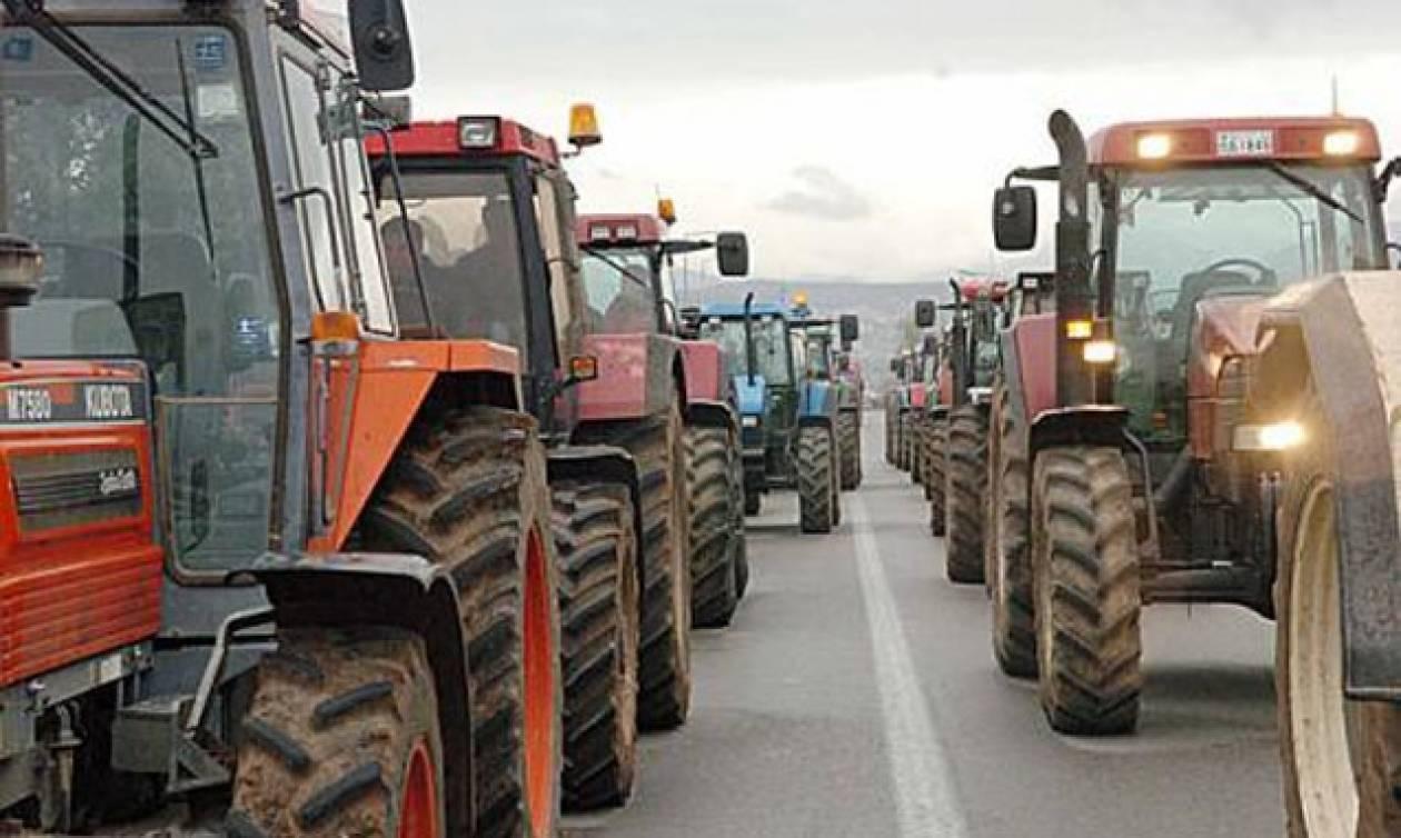 Θεσσαλονίκη: Σε εξέλιξη η μηχανοκίνητη πορεία αγροτών