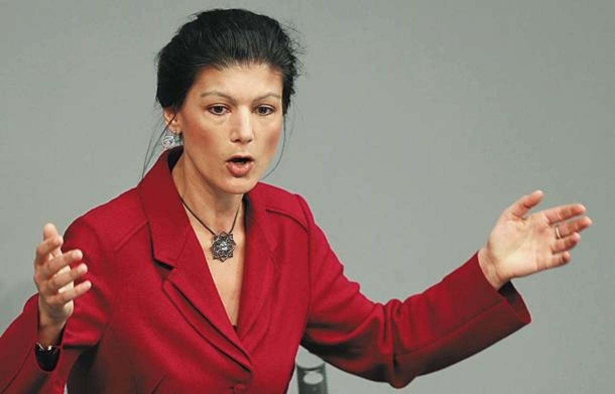 Βαγκενκνέχτ: «Ο Τσίπρας εκπροσωπεί φρέσκια πολιτική»