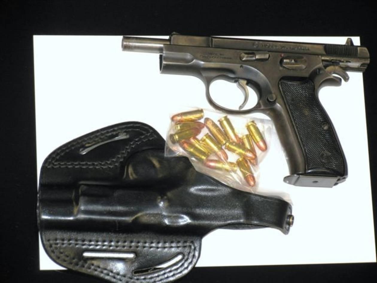 Συνελήφθη 36χρονος για παράνομη οπλοφορία στον Βοτανικό