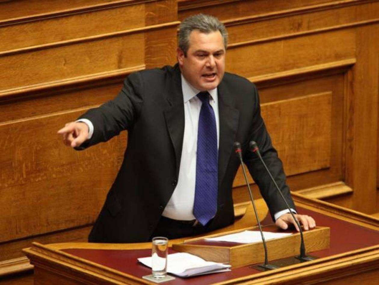 Συζήτηση αρχηγών για το Κυπριακό και το Σκοπιανό ζήτησε ο Καμμένος