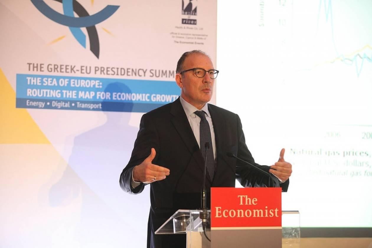 Συνέδριο Economist: Εξελίξεις σε τρία έργα-«κλειδιά» της ΔΕΠΑ