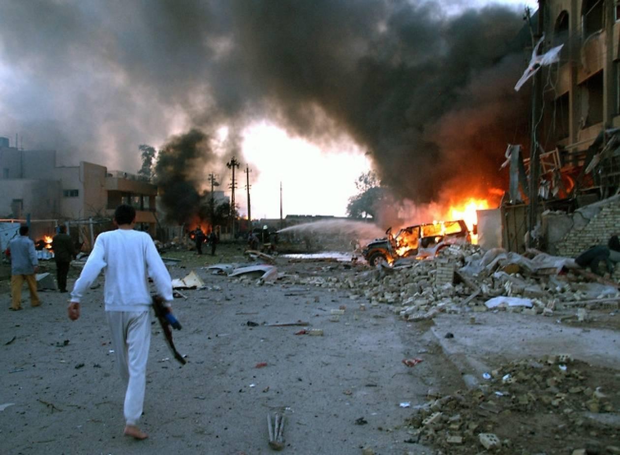 Ιράκ: 25 νεκροί ο απολογισμός των βομβιστικών επιθέσεων στη Βαγδάτη