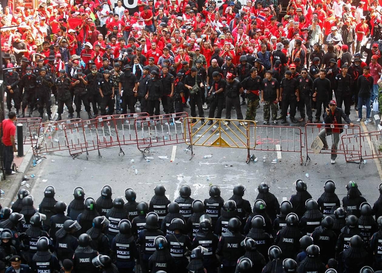 Ταϊλάνδη: Συλλήψεις αντικυβερνητικών διαδηλωτών στην Μπανγκόκ