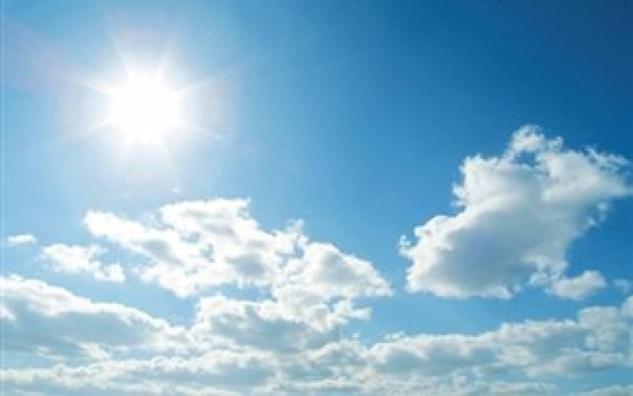 Καλοκαιρία με ηλιοφάνεια σήμερα
