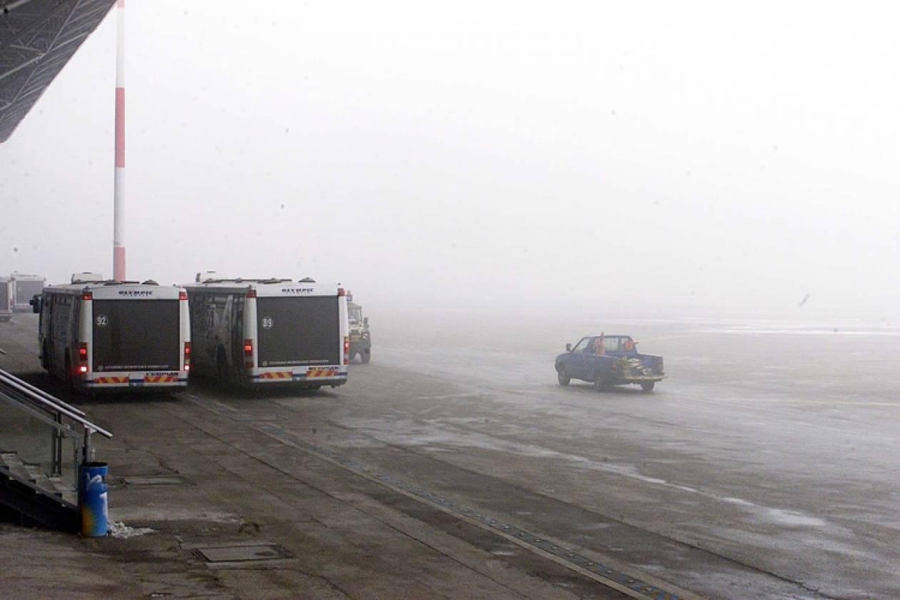 Κανονικά οι πτήσεις στο αεροδρόμιο «Μακεδονία» παρά την ομίχλη