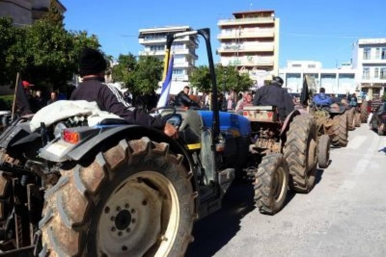 Στάση αναμονής των αγροτών εν όψει του συλλαλητηρίου