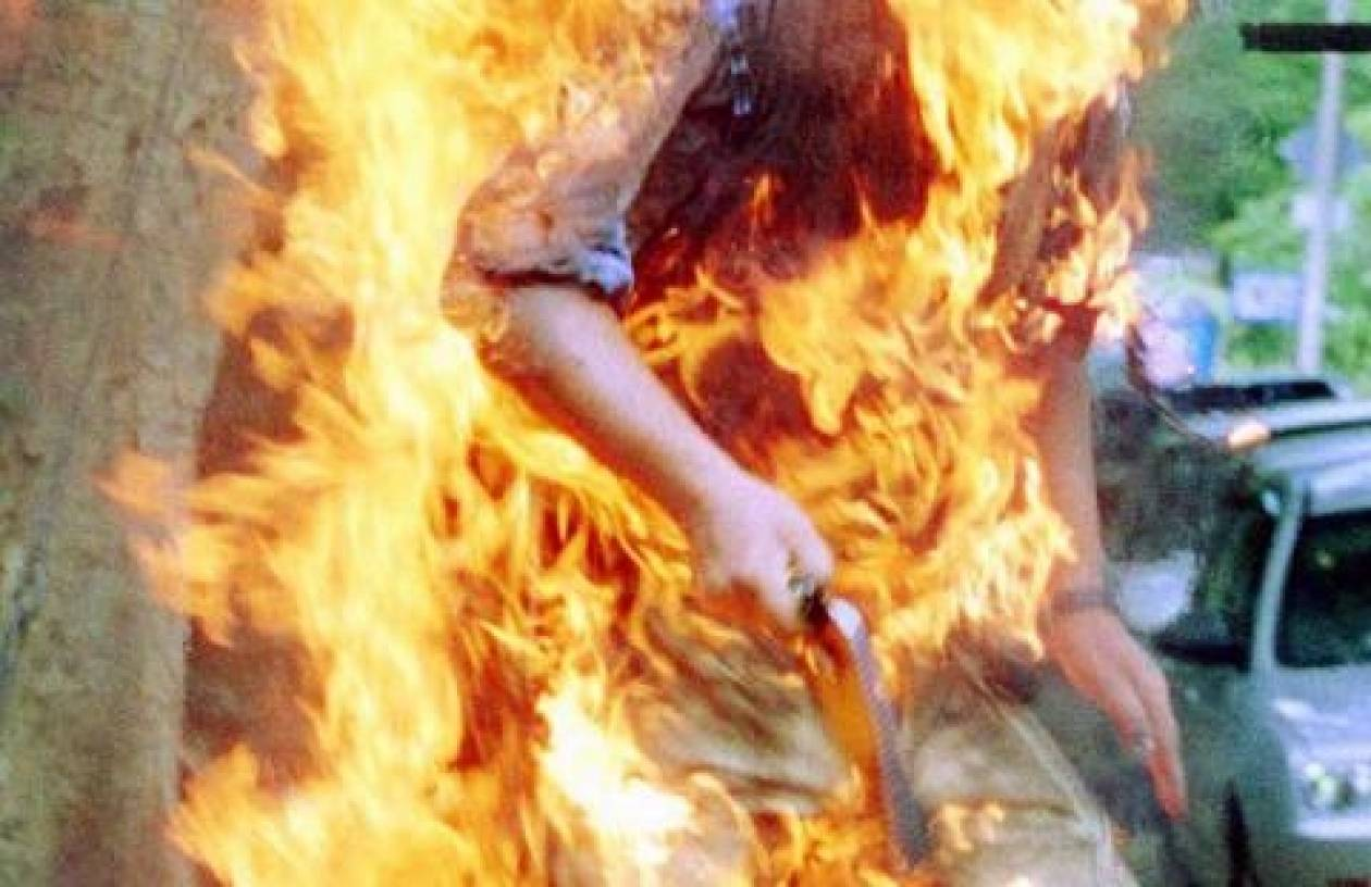 Ιράν: Αυτοπυρπολήθηκε έξω από το υπουργείο Πετρελαίου