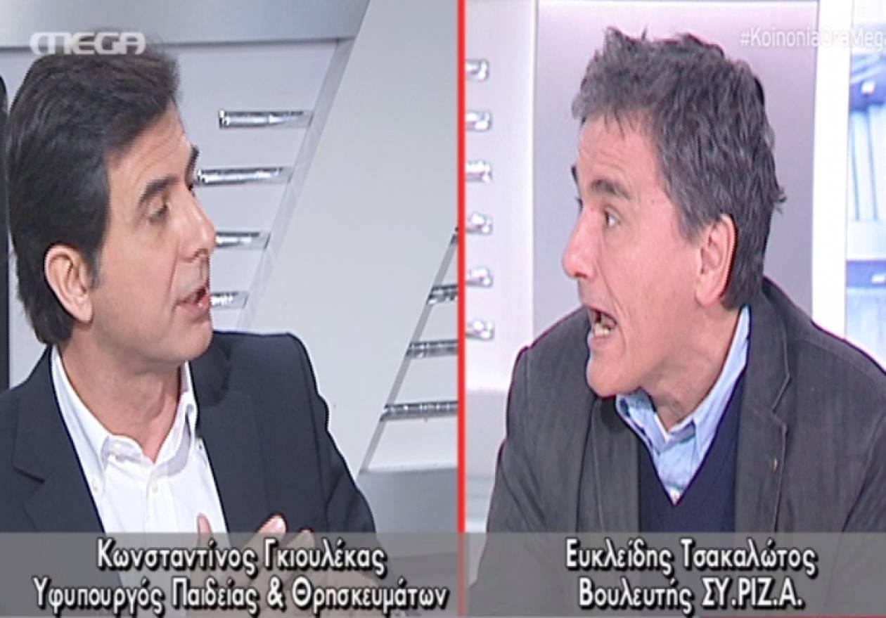 Τσακαλώτος: Άλλο ο ΣΥΡΙΖΑ, άλλο ο Λαφαζάνης (vid)
