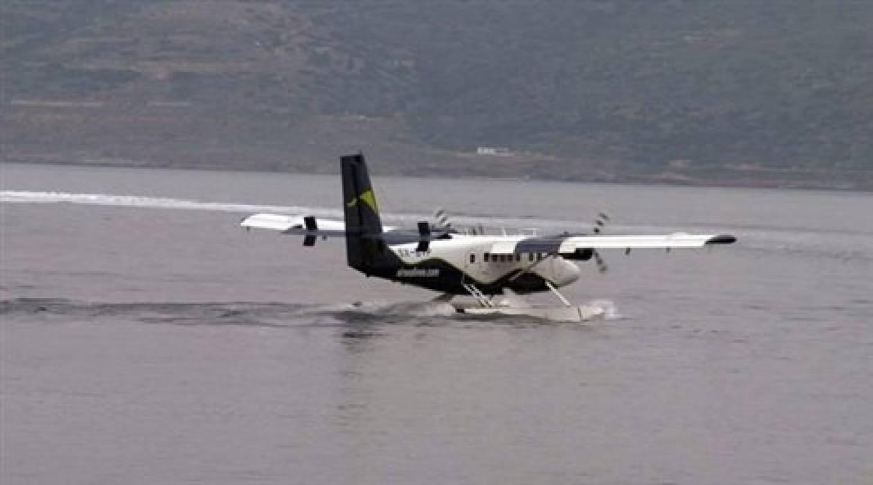 Το καλοκαίρι οι πρώτες πτήσεις των υδροπλάνων