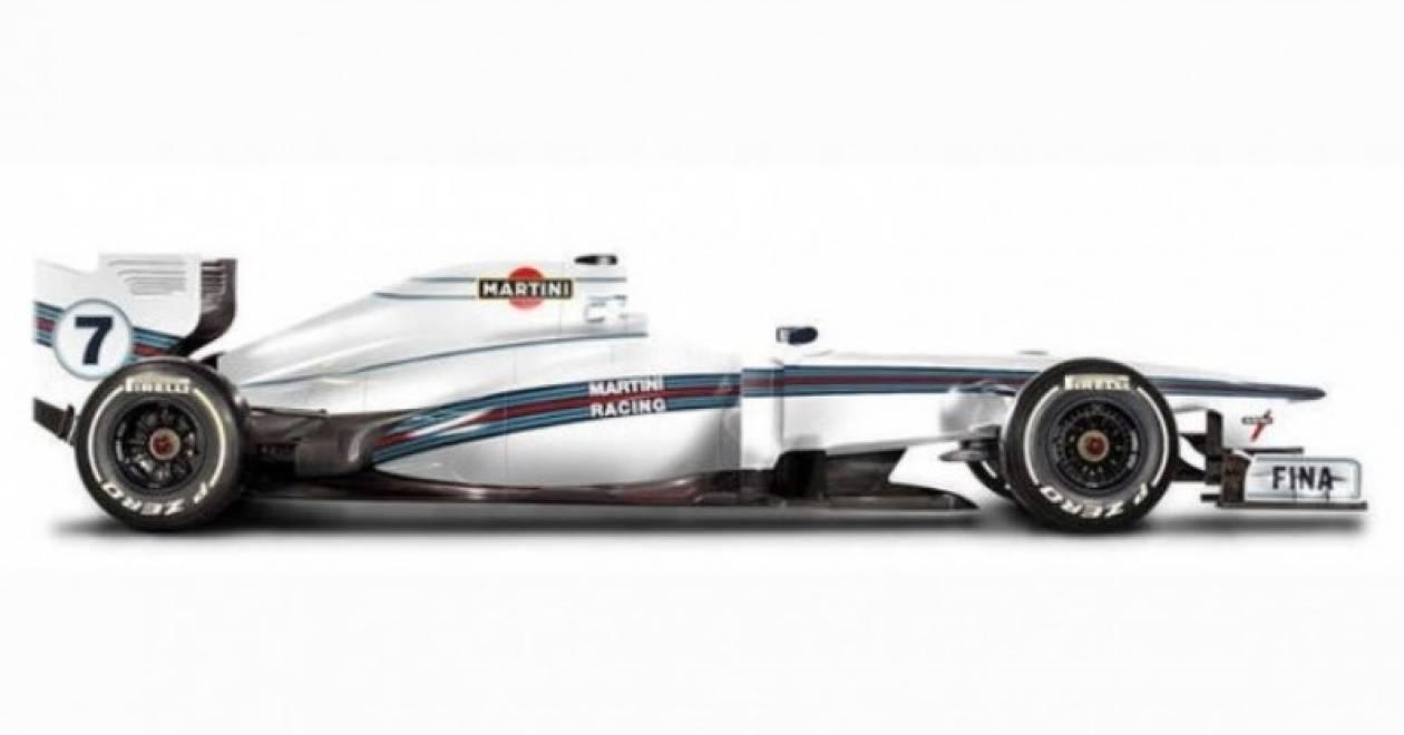 Η Martini Racing επιστρέφει στην F1