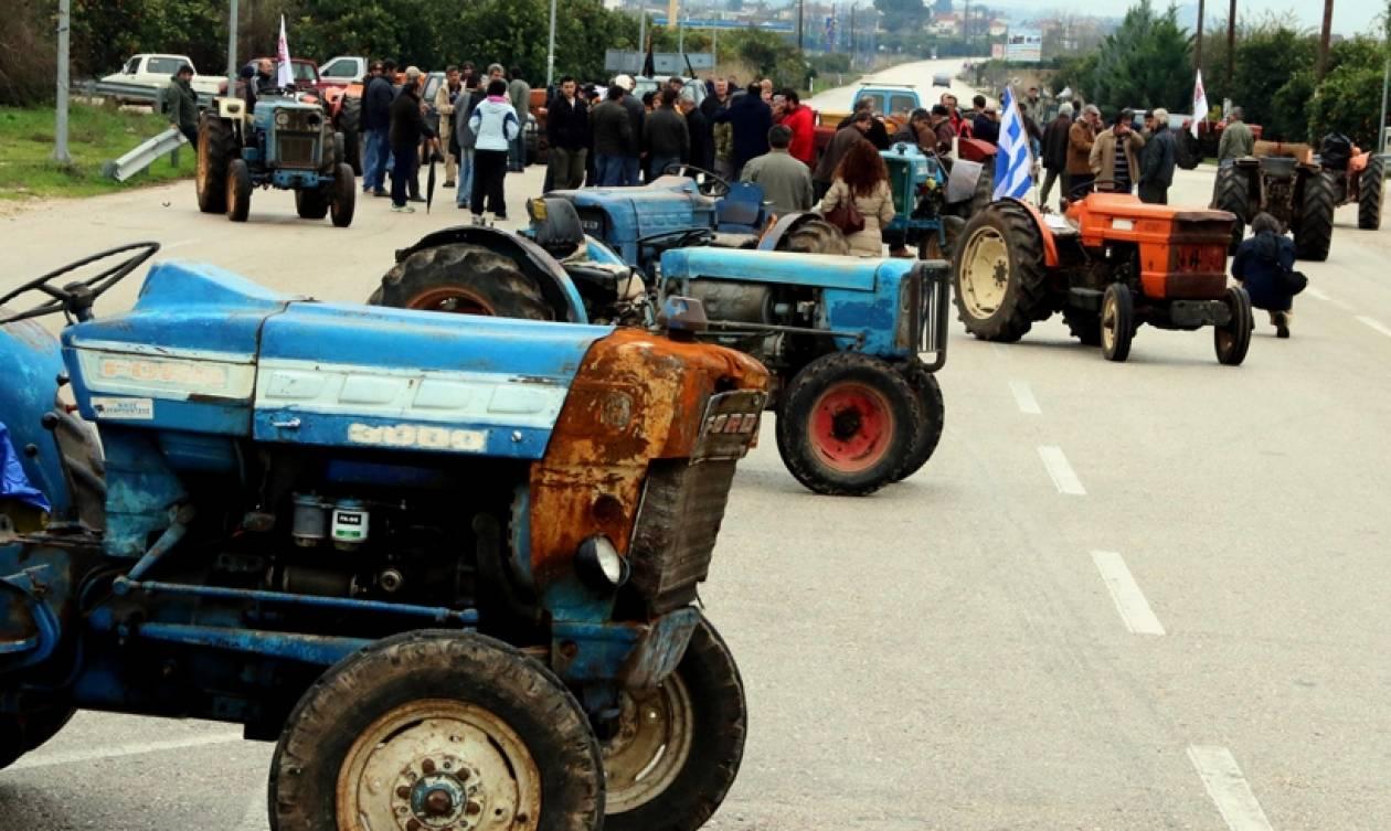 Κυκλοφοριακές ρυθμίσεις λόγω... αγροτών