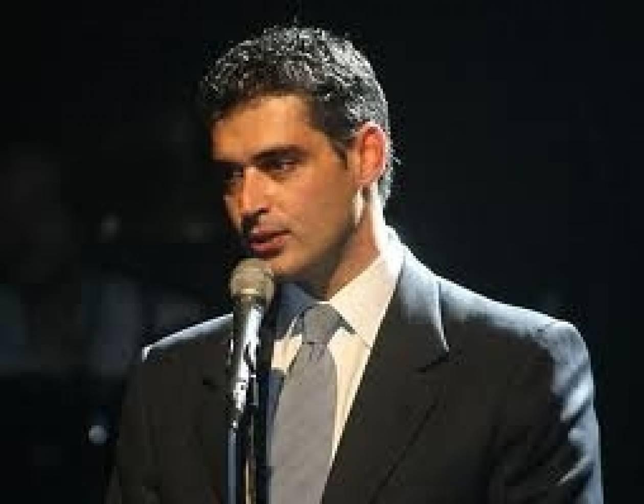 Στον Κώστα Καραμανλή ο Άρης Σπηλιωτόπουλος