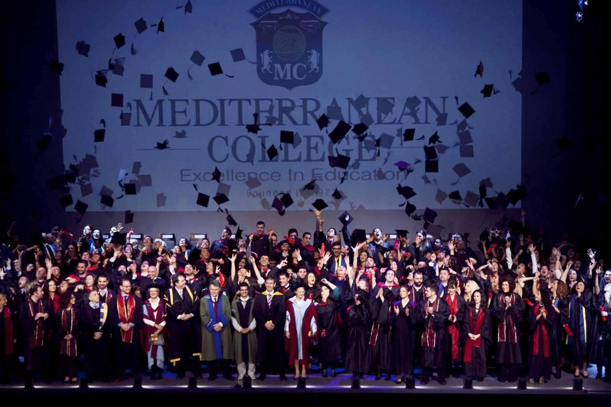 34η αποφοίτηση του Mediterranean College