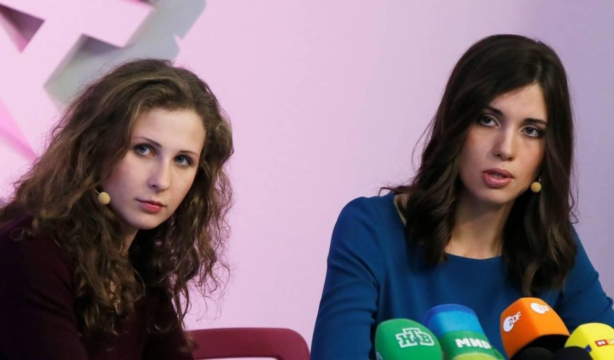 Ελεύθερα αφέθηκαν δύο μέλη των Pussy Riot που συνελήφθησαν στο Σότσι