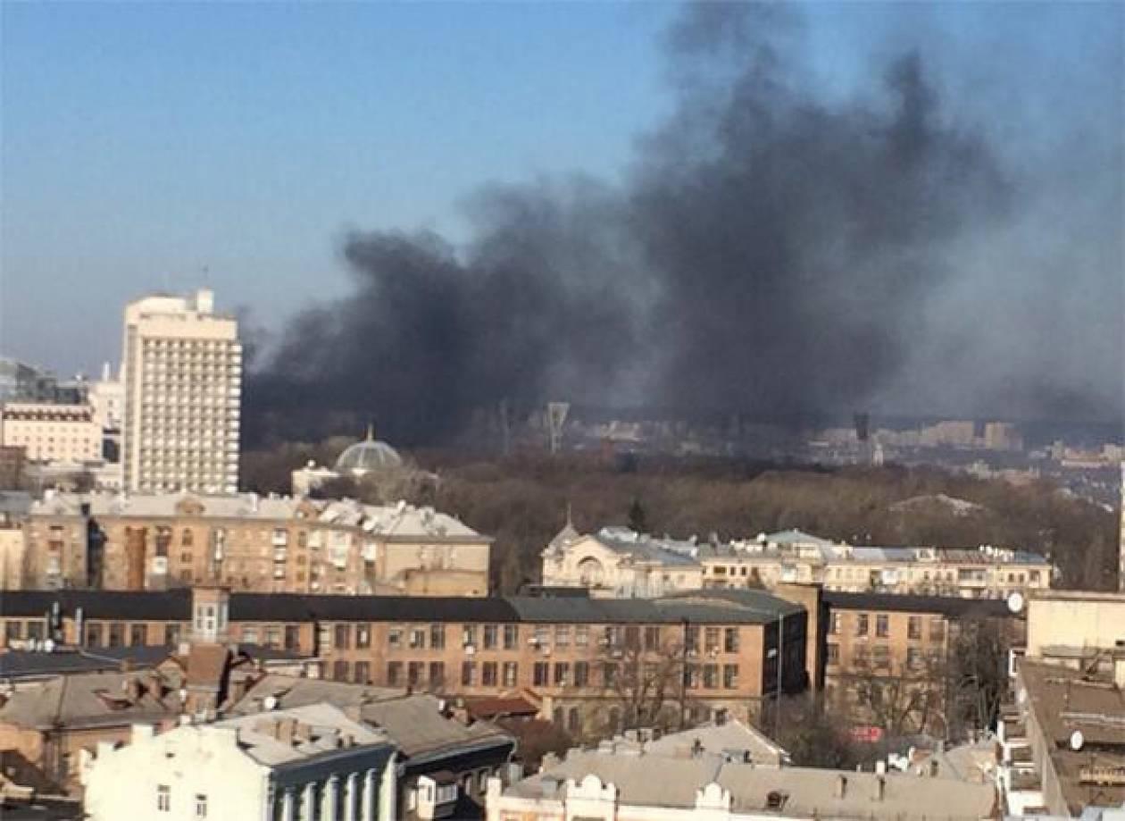 Ουκρανία: 5 νεκροί και 150 τραυματίες στις διαδηλώσεις (pics+video)