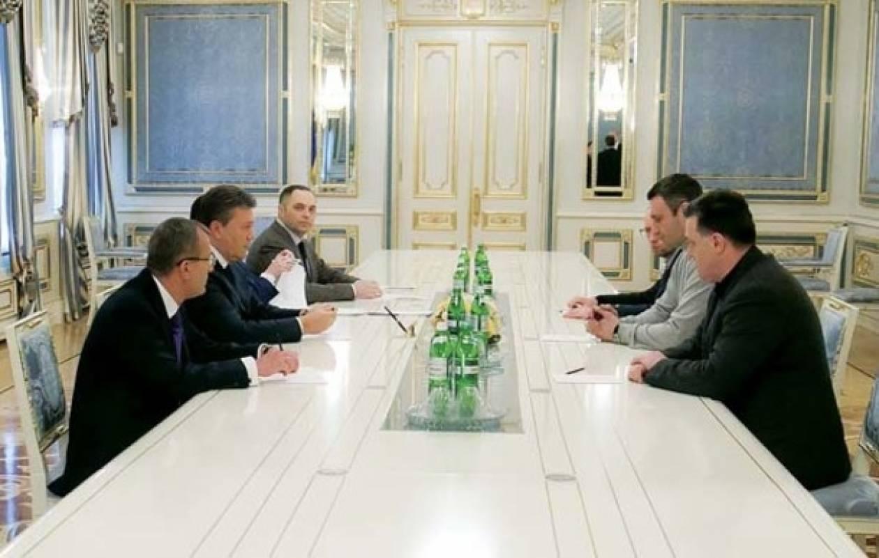 Ουκρανία: Συνάντηση με τον Γιανουκόβιτς έχει ο Κλίτσκο