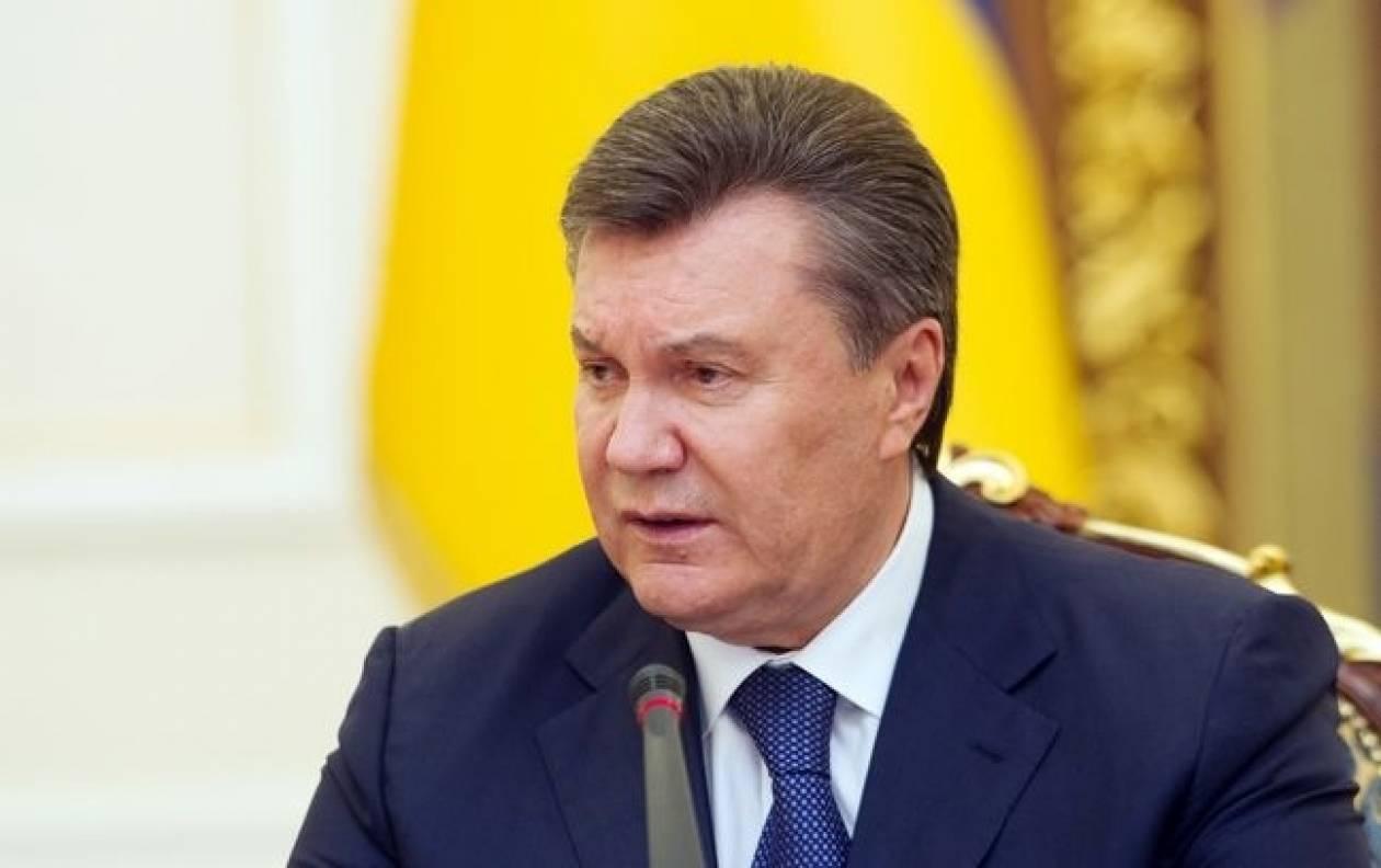 Γιανουκόβιτς: «Ακόμη δεν είναι αργά για τον τερματισμό της σύγκρουσης»
