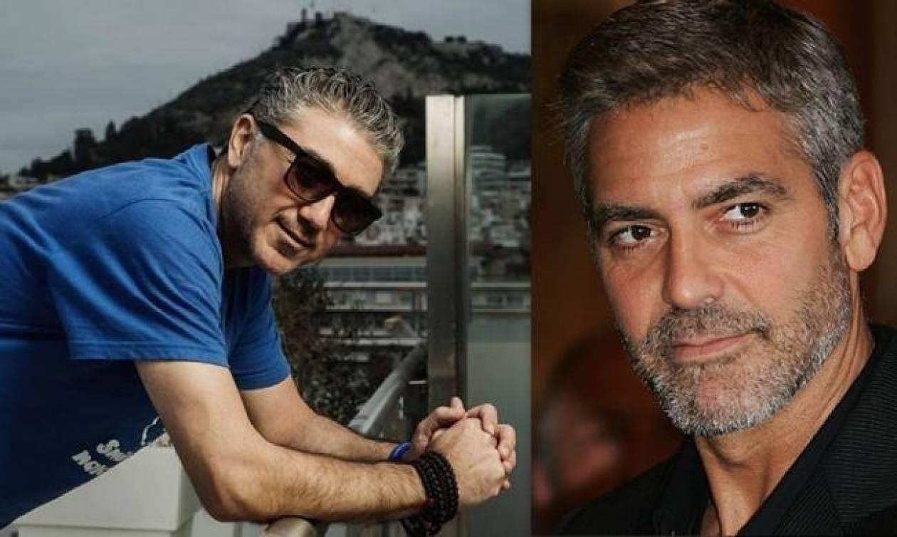 Ο Έλληνας «Clooney» προσκάλεσε τον George Clooney να...