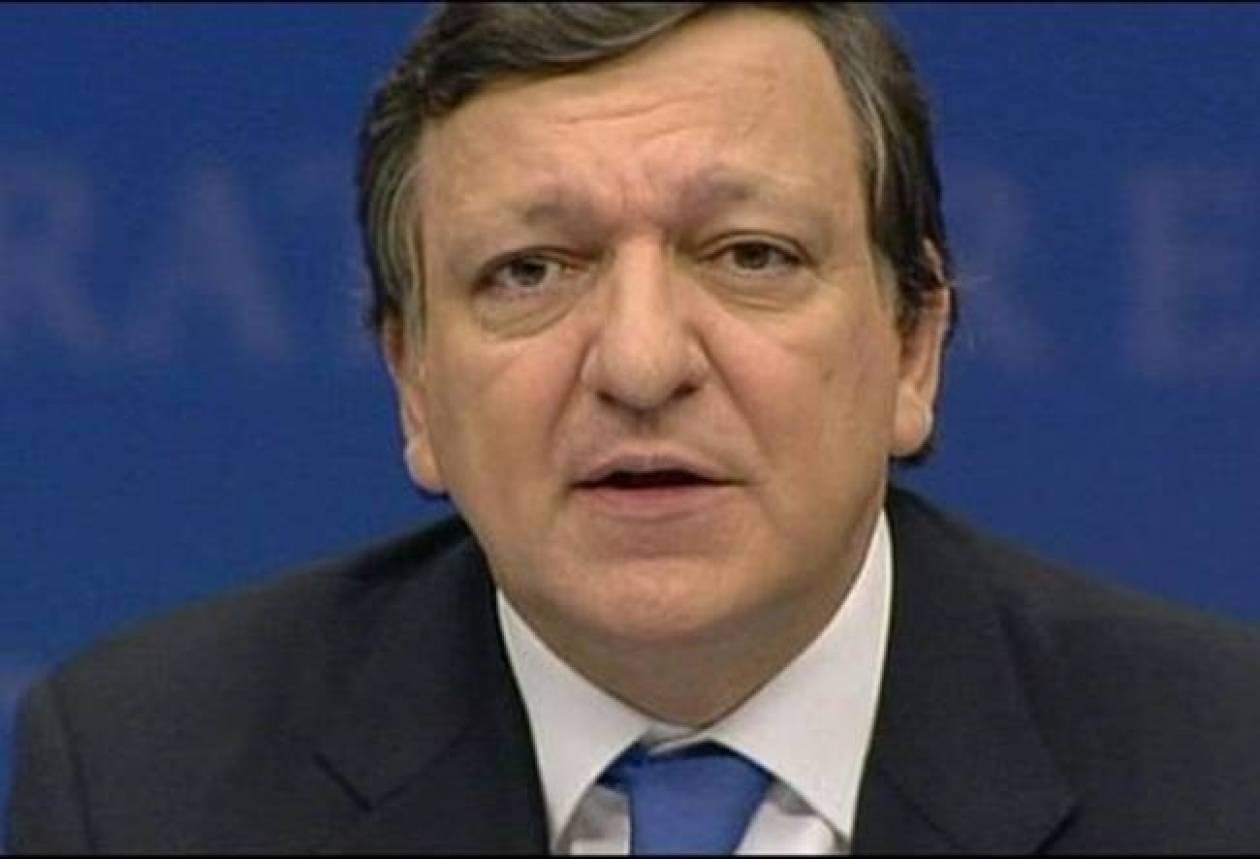 Μπαρόζο: Να τερματιστεί άμεσα η βία στην Ουκρανία