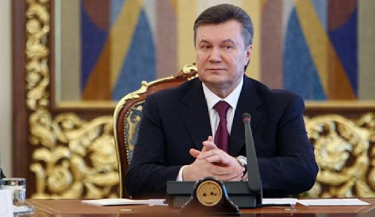 Ουκρανία: Εκεχειρία ανακοίνωσε ο πρόεδρος Γιανουκόβιτς