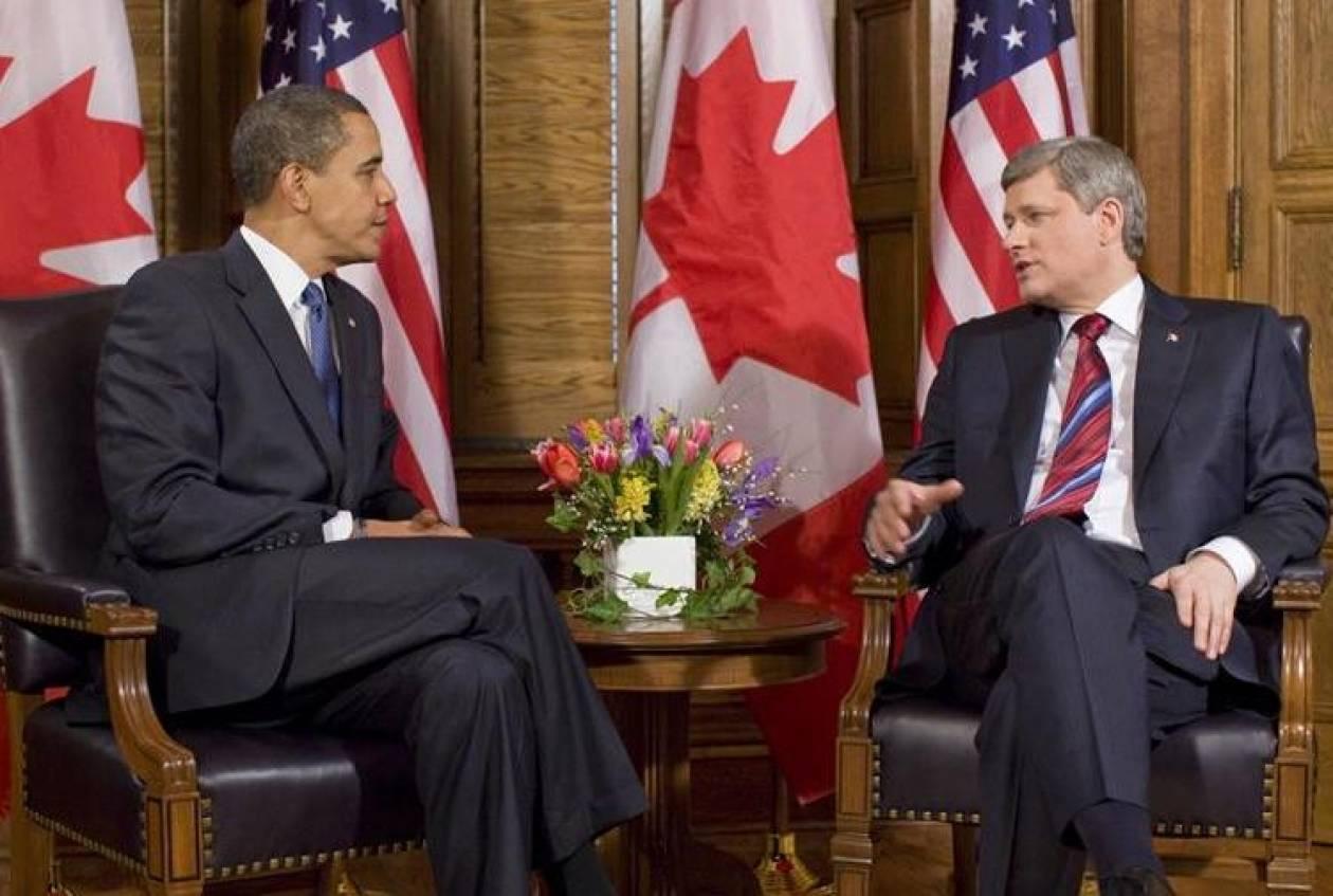 Ομπάμα και Χάρπερ συμφωνούν πως η «εκεχειρία» είναι θετικό βήμα