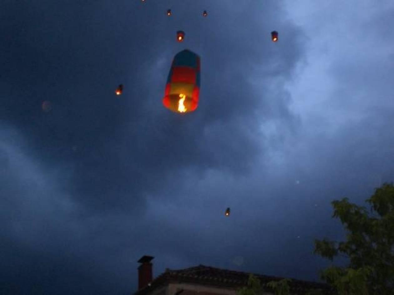 Καλαμάτα: Κίνδυνος πυρκαγιάς από αερόστατα την Αποκριά!