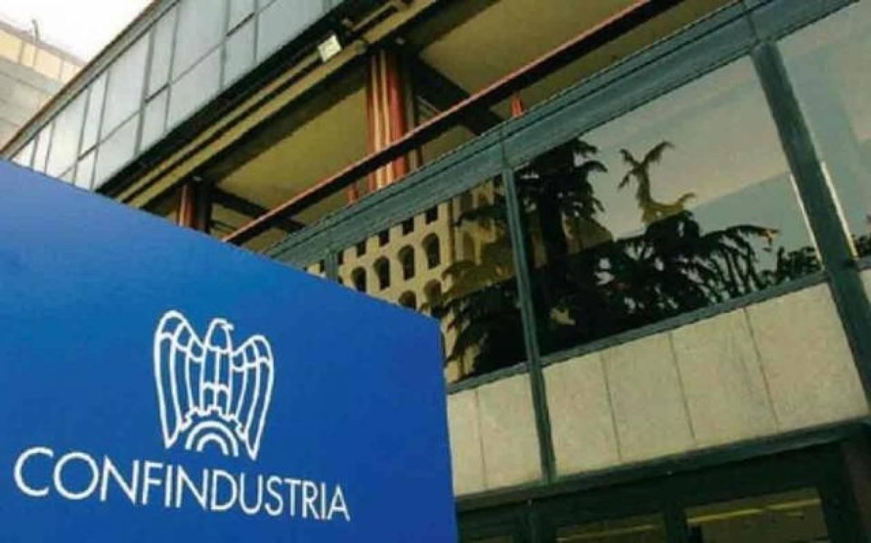 Confindustria: Αργή και άτονη η ανάκαμψη της ιταλικής οικονομίας
