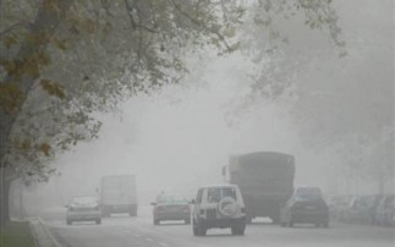 Ομίχλη σε Κεντρική και Δυτική Μακεδονία