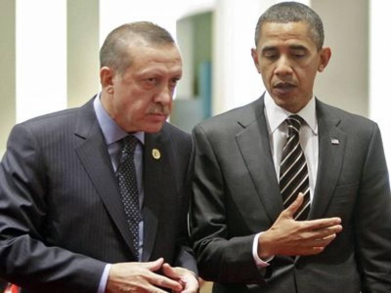 Ομπάμα και Ερντογάν συζήτησαν για Κύπρο και Συρία