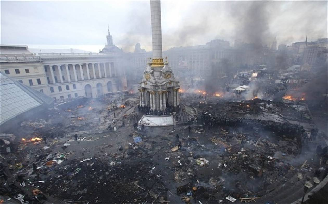 Kίεβο: Αναχώρησαν οι Ευρωπαίοι υπουργοί Εξωτερικών μετά τα επεισόδια