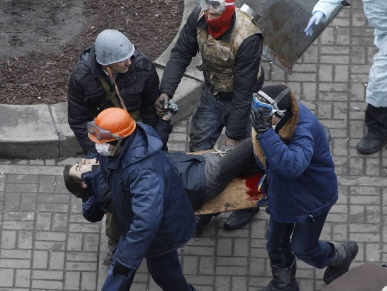 Συνάντηση Γιανουκόβιτς με Ευρωπαίους ΥΠΕΞ - 17 οι νεκροί σήμερα