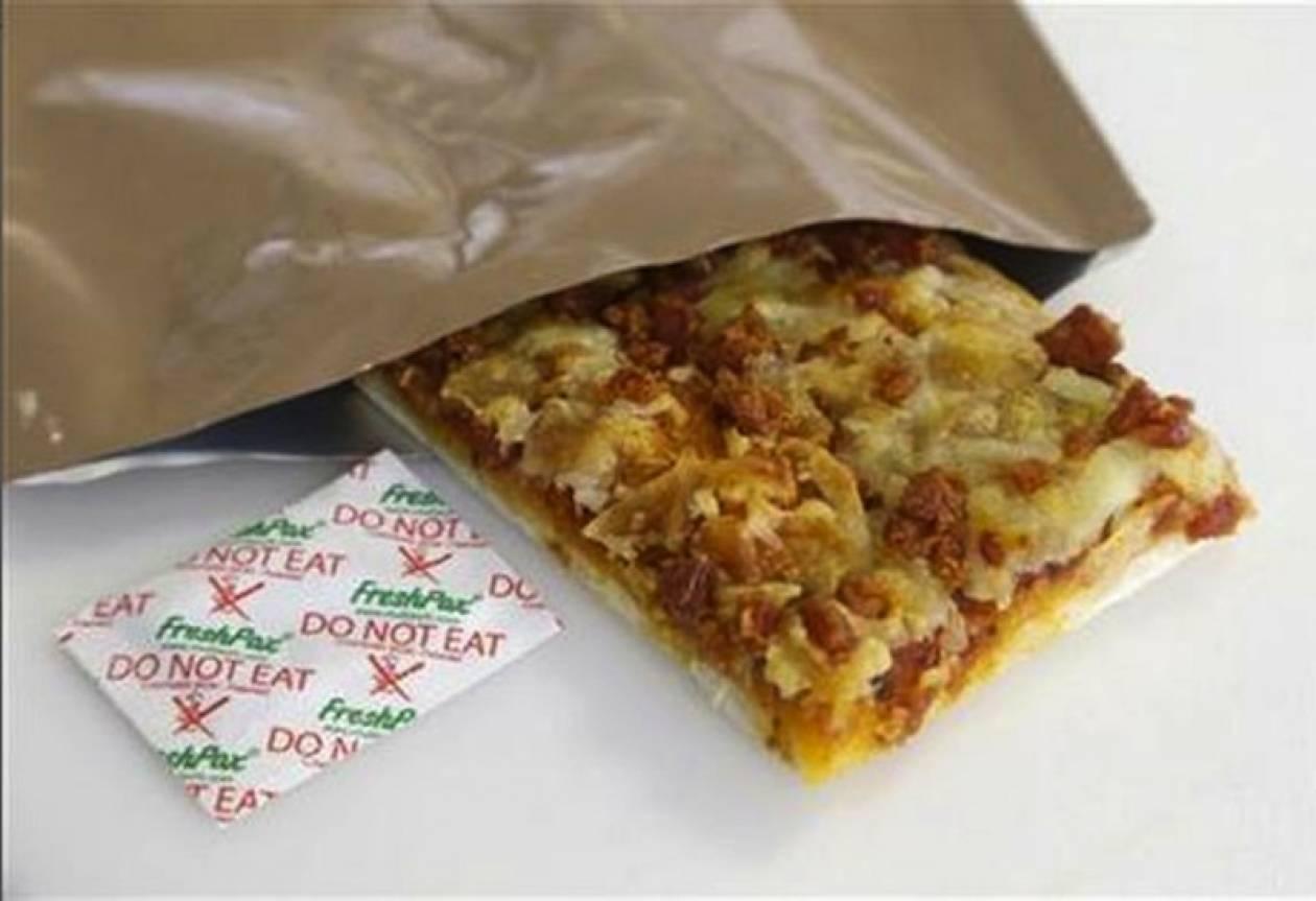 Πίτσα διατηρείται ανέπαφη για 3 χρόνια